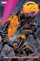 X-Men Fantastic Four TPB Vol 1 1