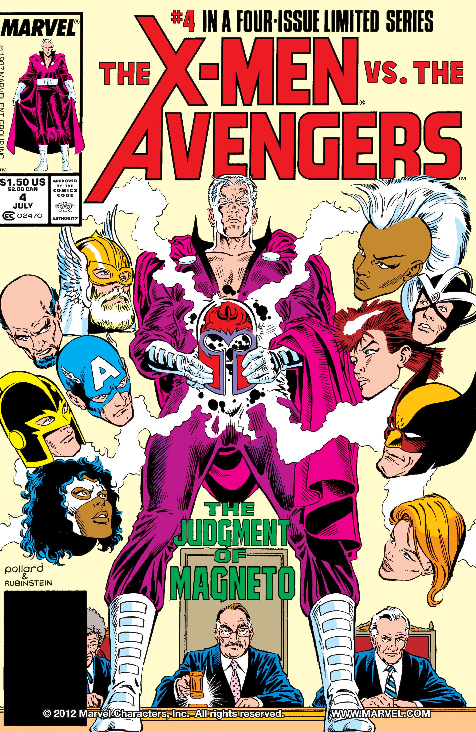 X-Men vs Avengers Vol 1 4