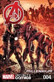Avengers Millennium Infinite Comic Vol 1 4
