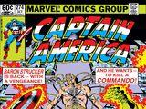 Captain America Vol 1 274