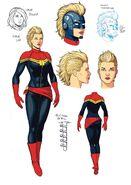 Carol Danvers (Earth-616) by Jamie McKelvie 001