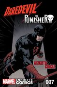 Daredevil Punisher Seventh Circle Infinite Comic Vol 1 7