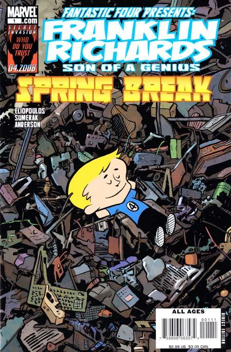 Franklin Richards: Spring Break Vol 1 1