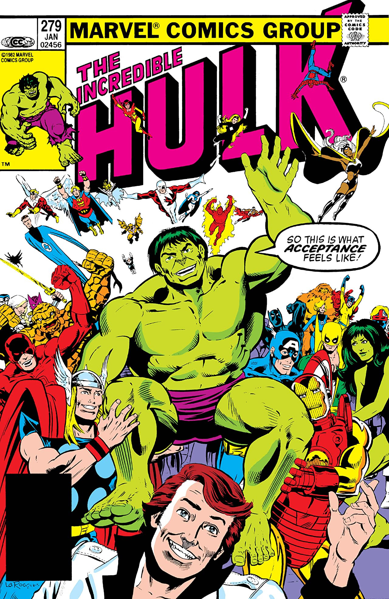 Incredible Hulk Vol 1 279