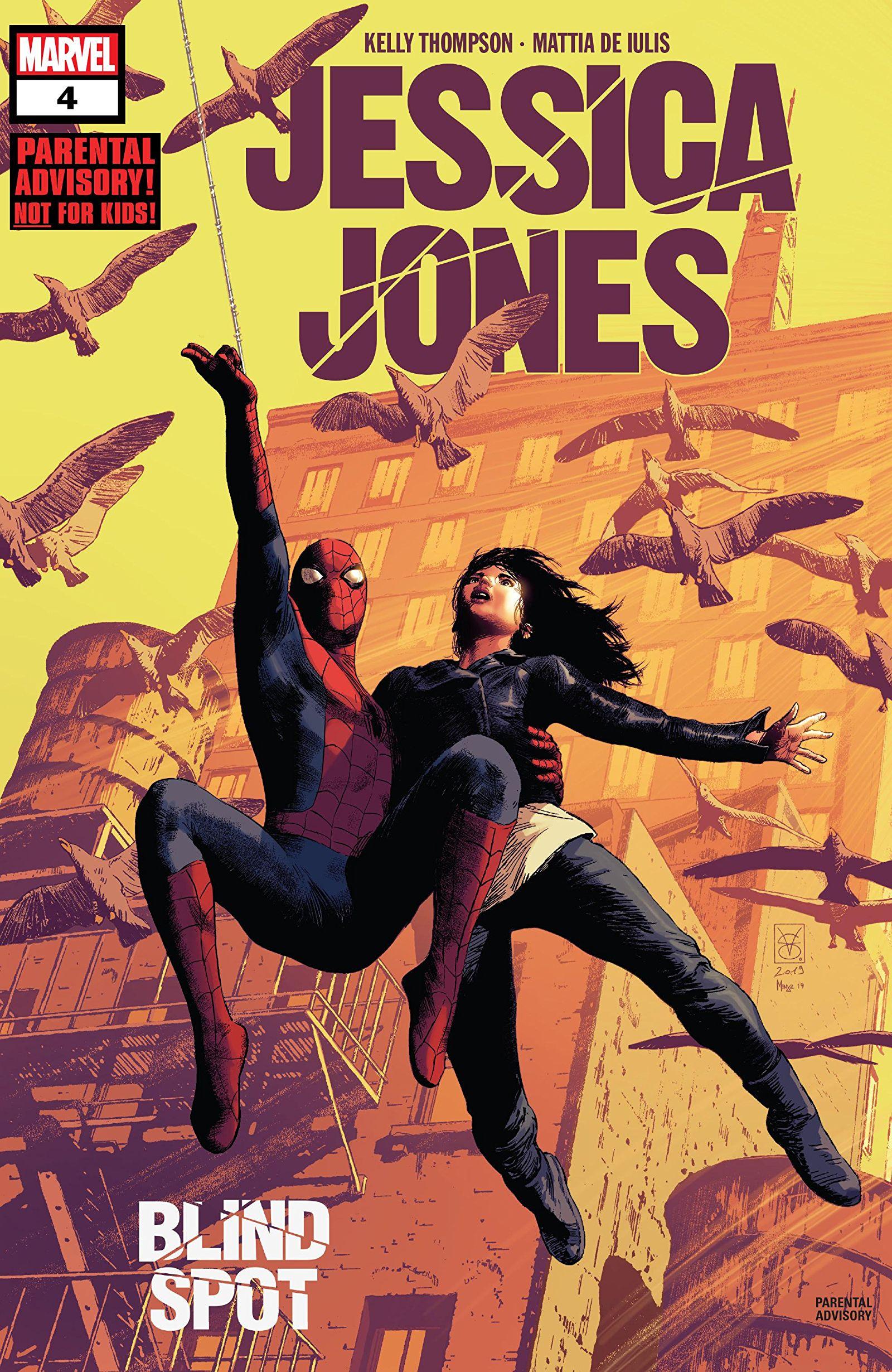 Jessica Jones: Blind Spot Vol 1 4