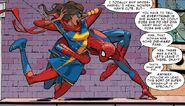 Kamala Khan (Earth-616) and Peter Parker (Earth-616) from Amazing Spider-Man Vol 3 7 001