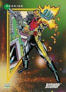 Lucas Bishop (Earth-1191) from Marvel Universe Cards Series III 0001