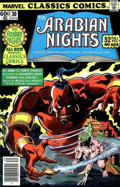 Marvel Classics Comics Series Featuring The Arabian Nights Vol 1