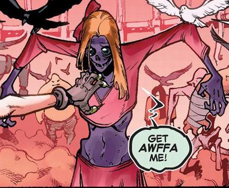 Non-Newtonian Annie (Legion Personality) (Earth-616)
