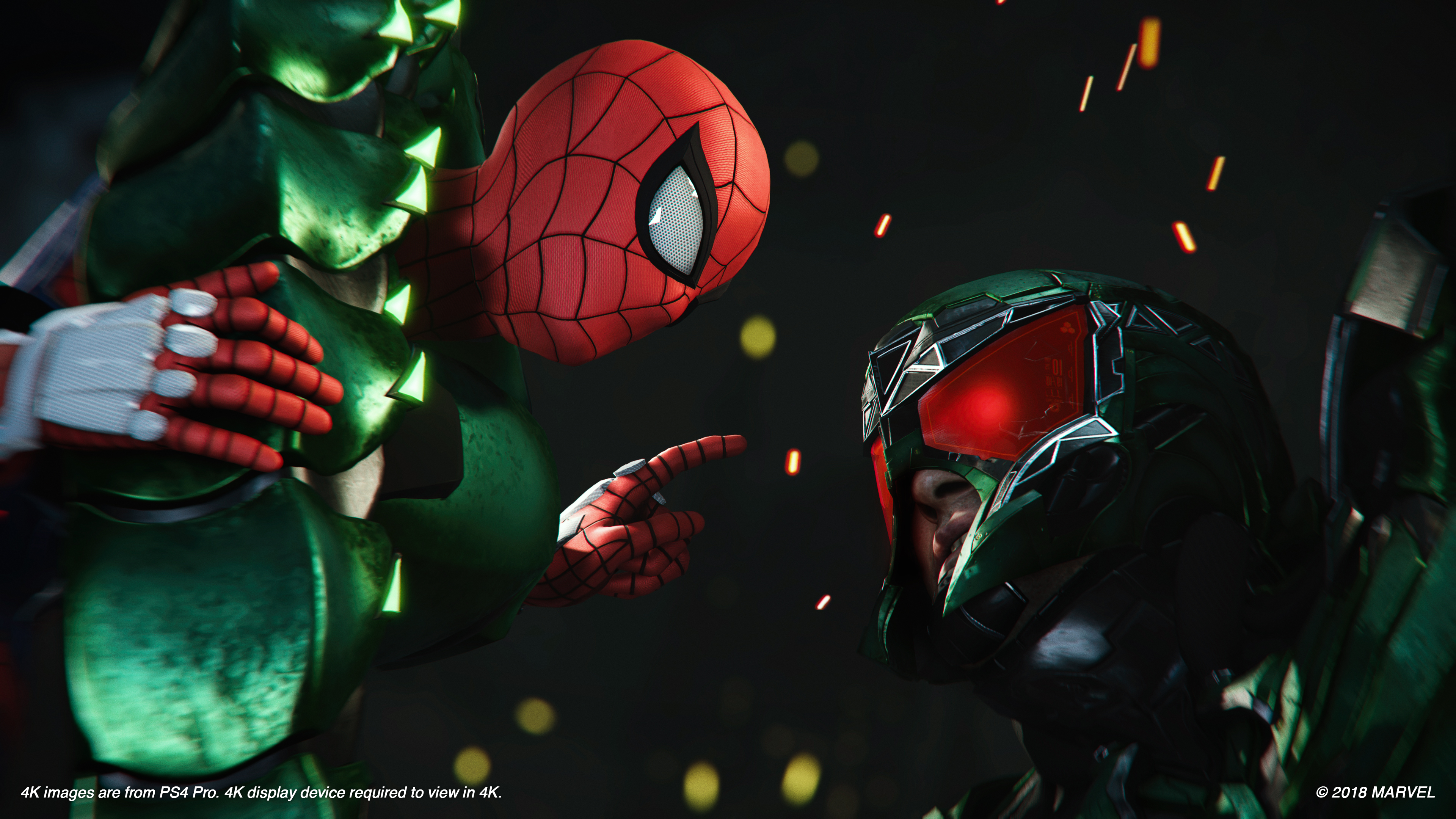 Peter Parker (Earth-1048) and MacDonald Gargan (Earth-1048) from Marvel's Spider-Man (video game) 001.jpg