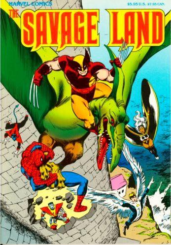 X-Men in the Savage Land TPB Vol 1