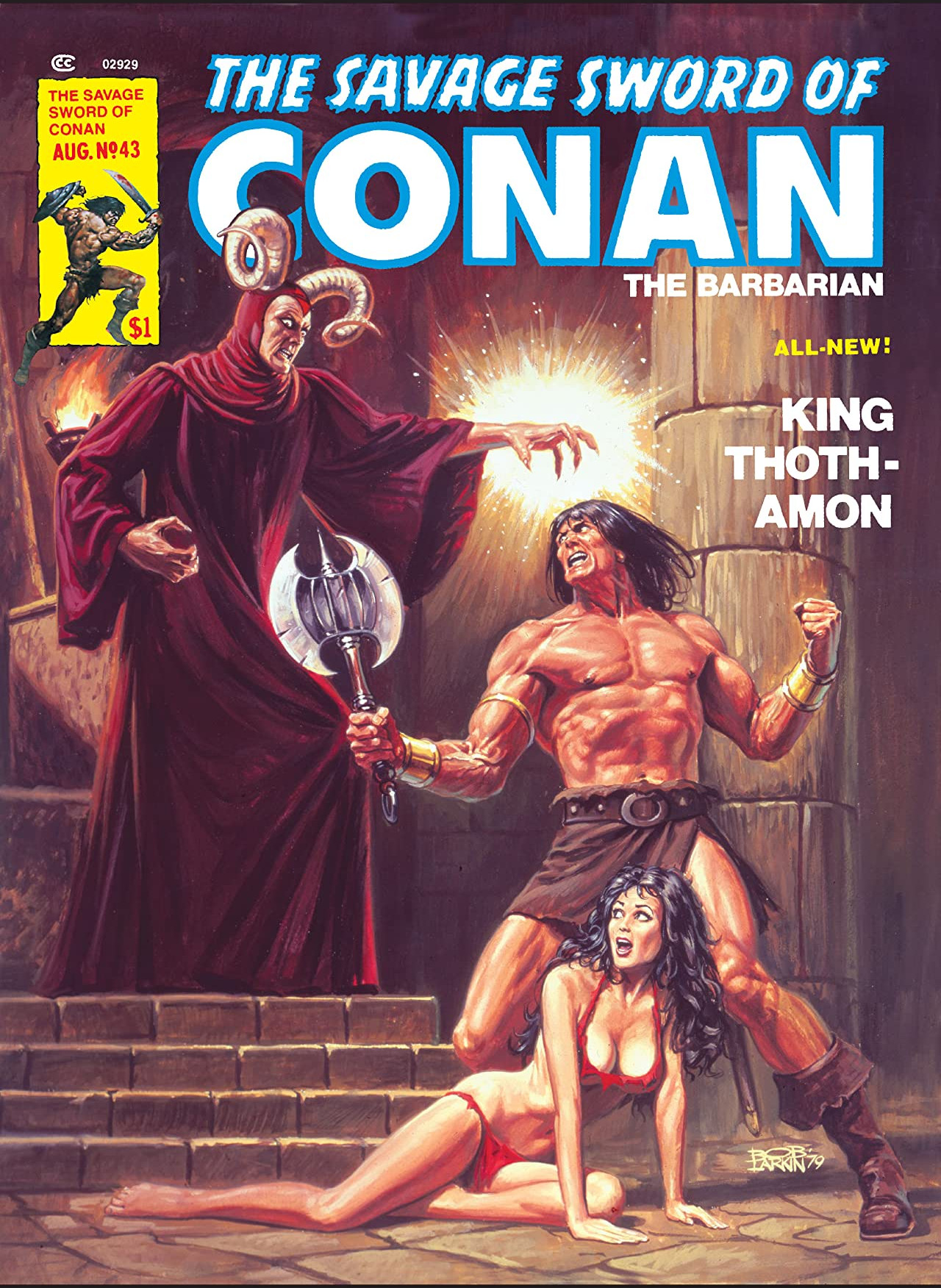 Savage Sword of Conan Vol 1 43