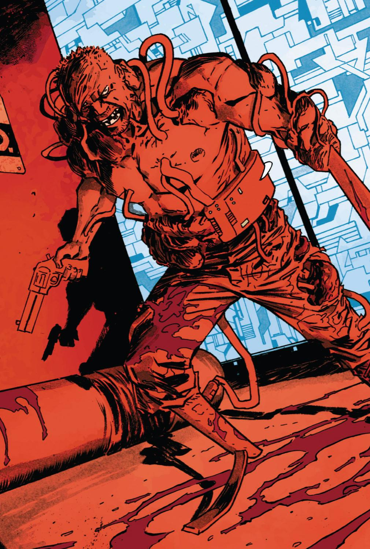 Slasher (Ex-S.H.I.E.L.D. Agent) (Earth-616)