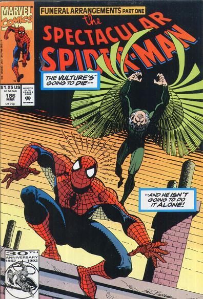 Spectacular Spider-Man Vol 1 186