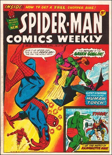 Spider-Man Comics Weekly Vol 1 11