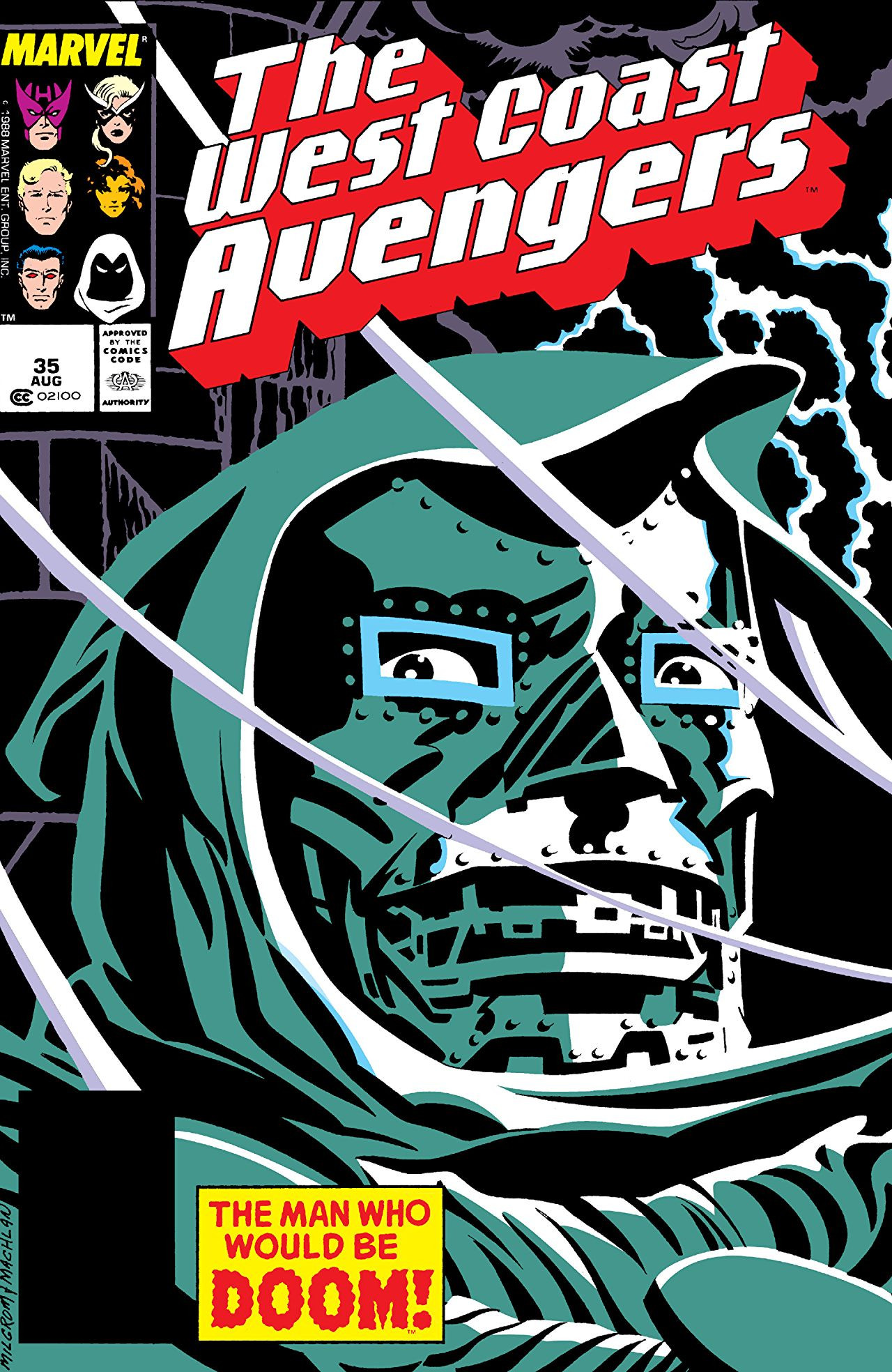 West Coast Avengers Vol 2 35