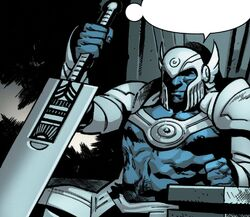 White Sword (Earth-616) and Purity (Sword) from X of Swords Stasis Vol 1 1 001.jpg