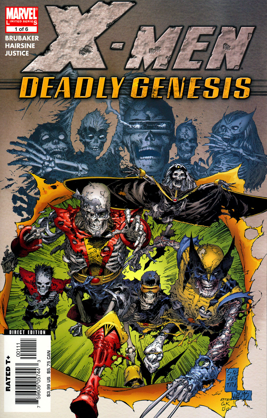 X-Men: Deadly Genesis Vol 1 1