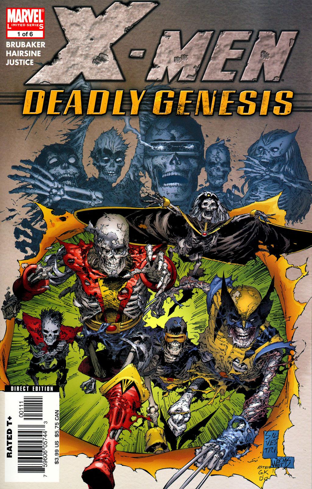 X-Men: Deadly Genesis Vol 1 1