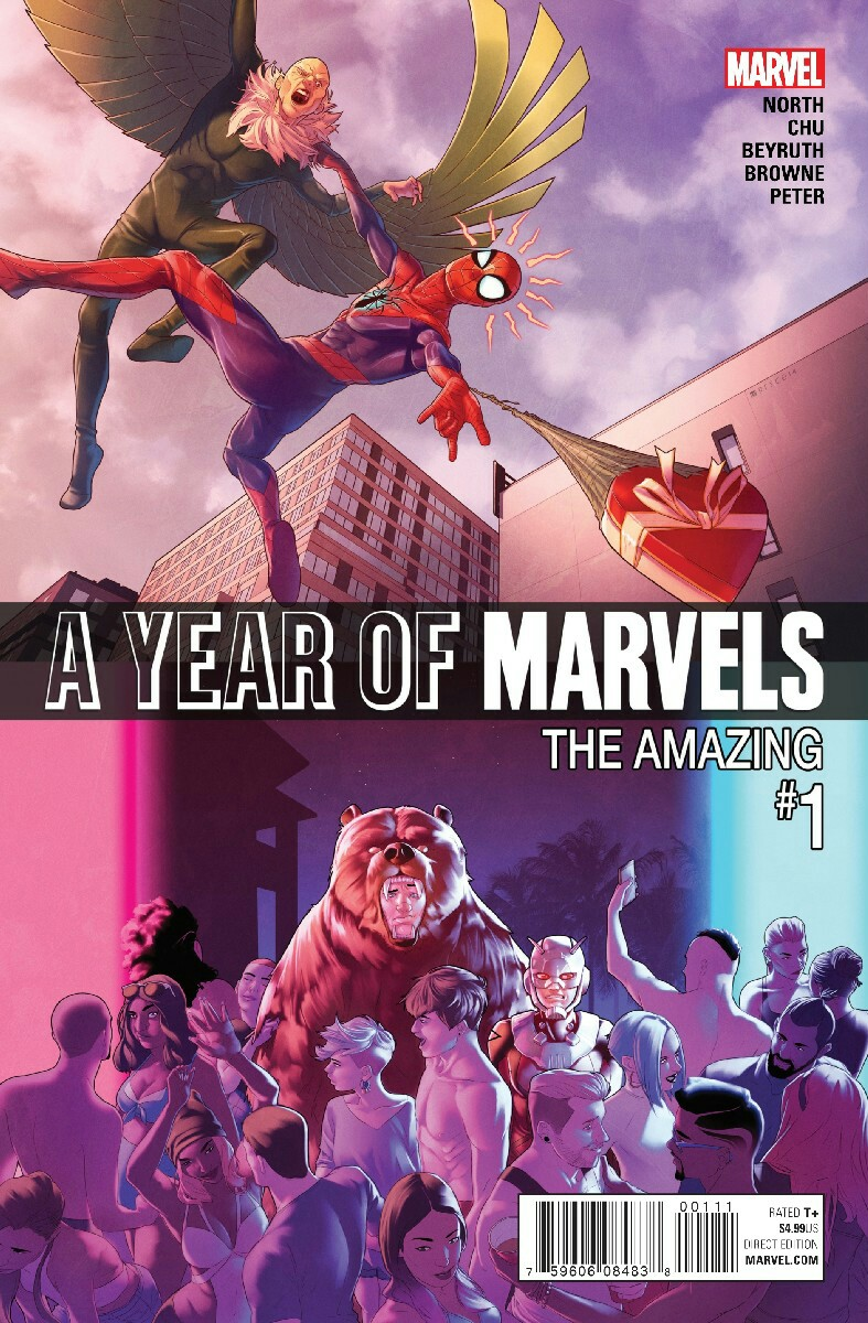Year of Marvels: The Amazing Vol 1 1