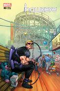 All-New Hawkeye Vol 1 3 NYC Variant
