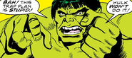 Bruce Banner (Earth-616) from Defenders Vol 1 61 001
