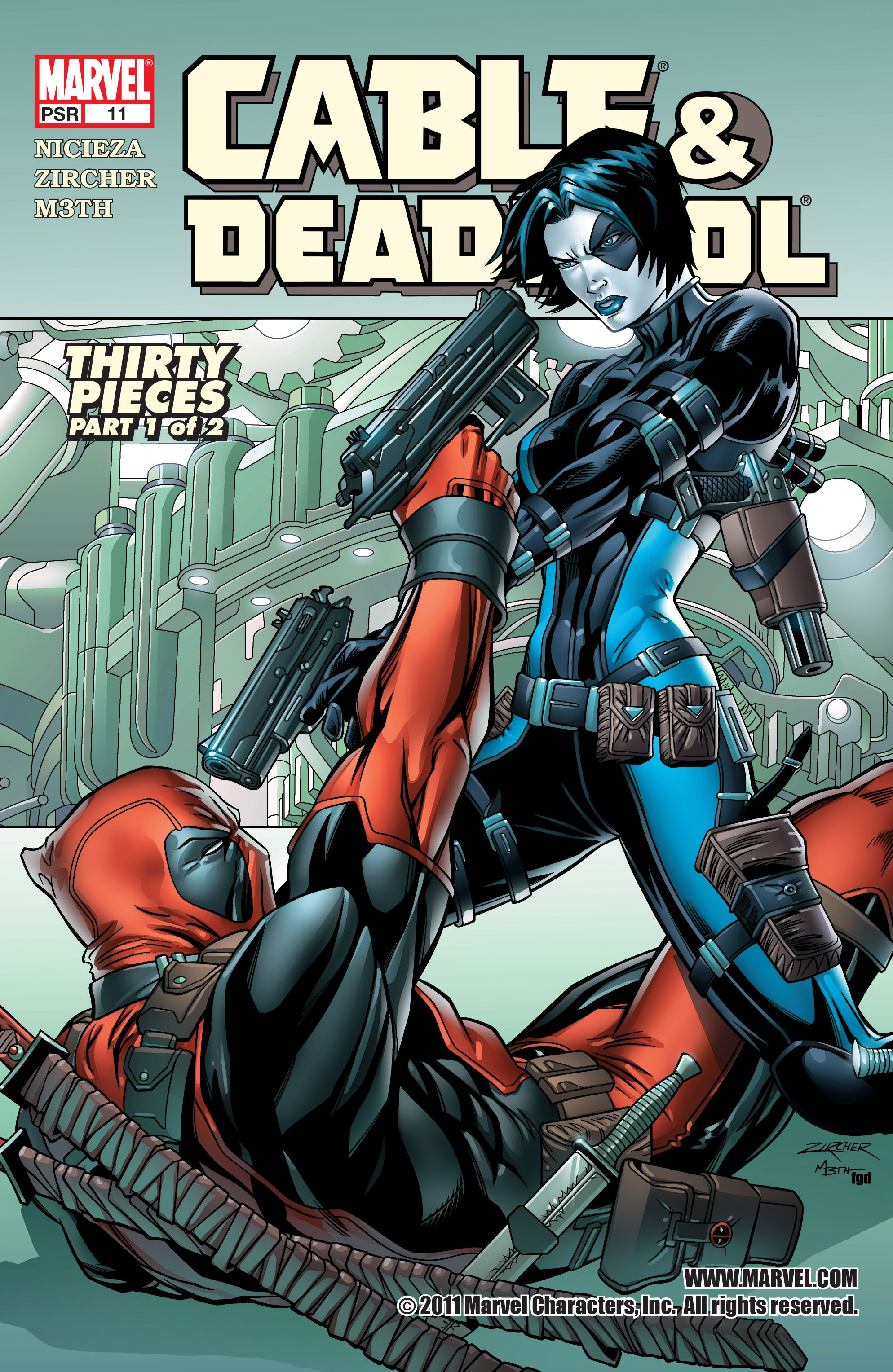 Cable & Deadpool Vol 1 11