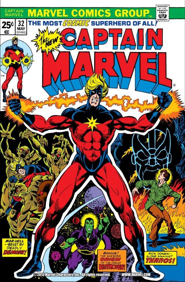 Captain Marvel Vol 1 32