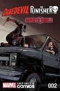 Daredevil Punisher Seventh Circle Infinite Comic Vol 1 2