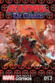 Deadpool The Gauntlet Infinite Comic Vol 1 13