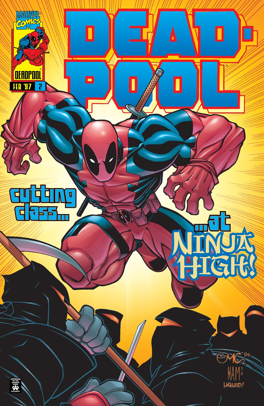 Deadpool Vol 3 2