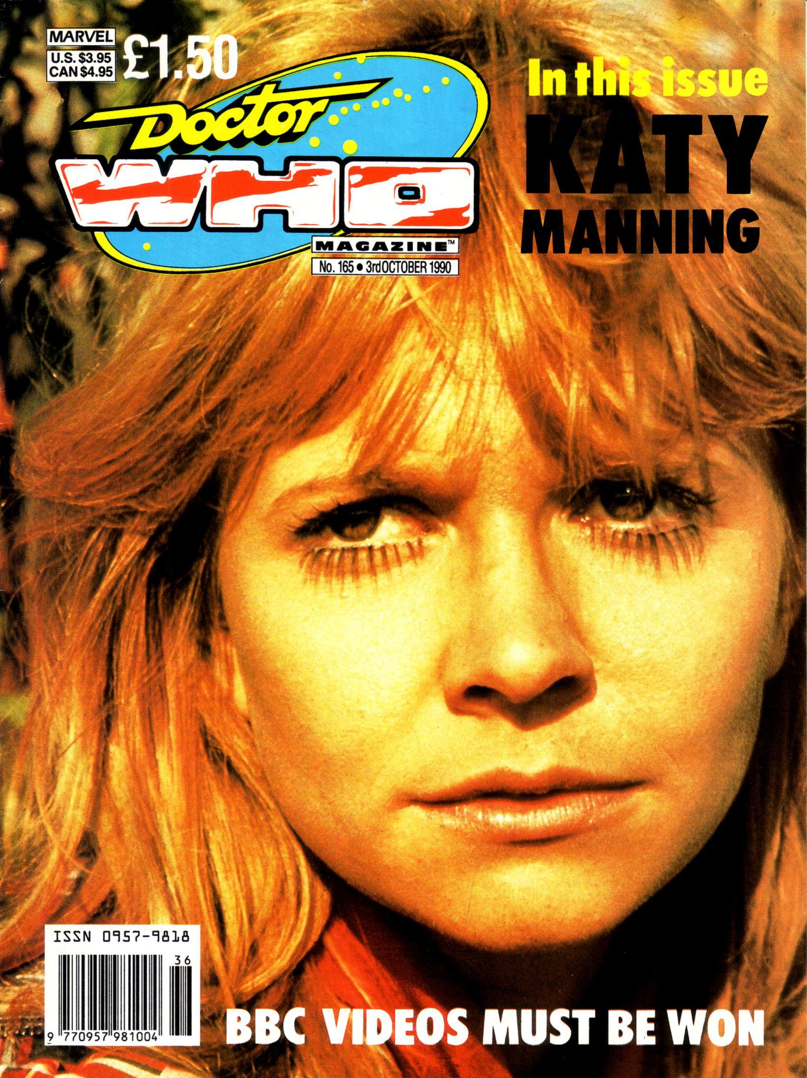 Doctor Who Magazine Vol 1 165