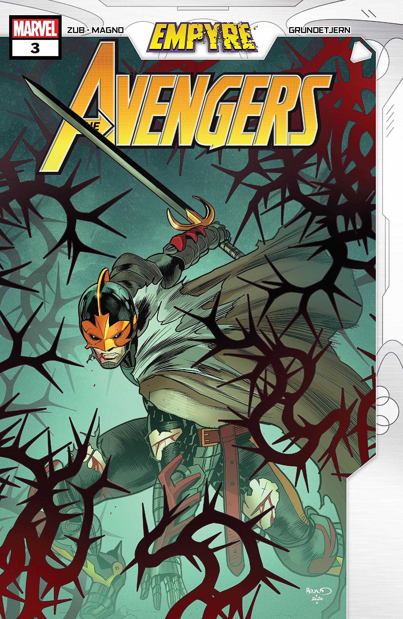 Empyre: Avengers Vol 1 3