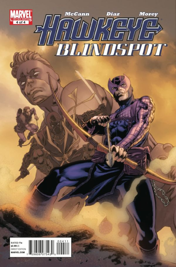 Hawkeye: Blind Spot Vol 1 4