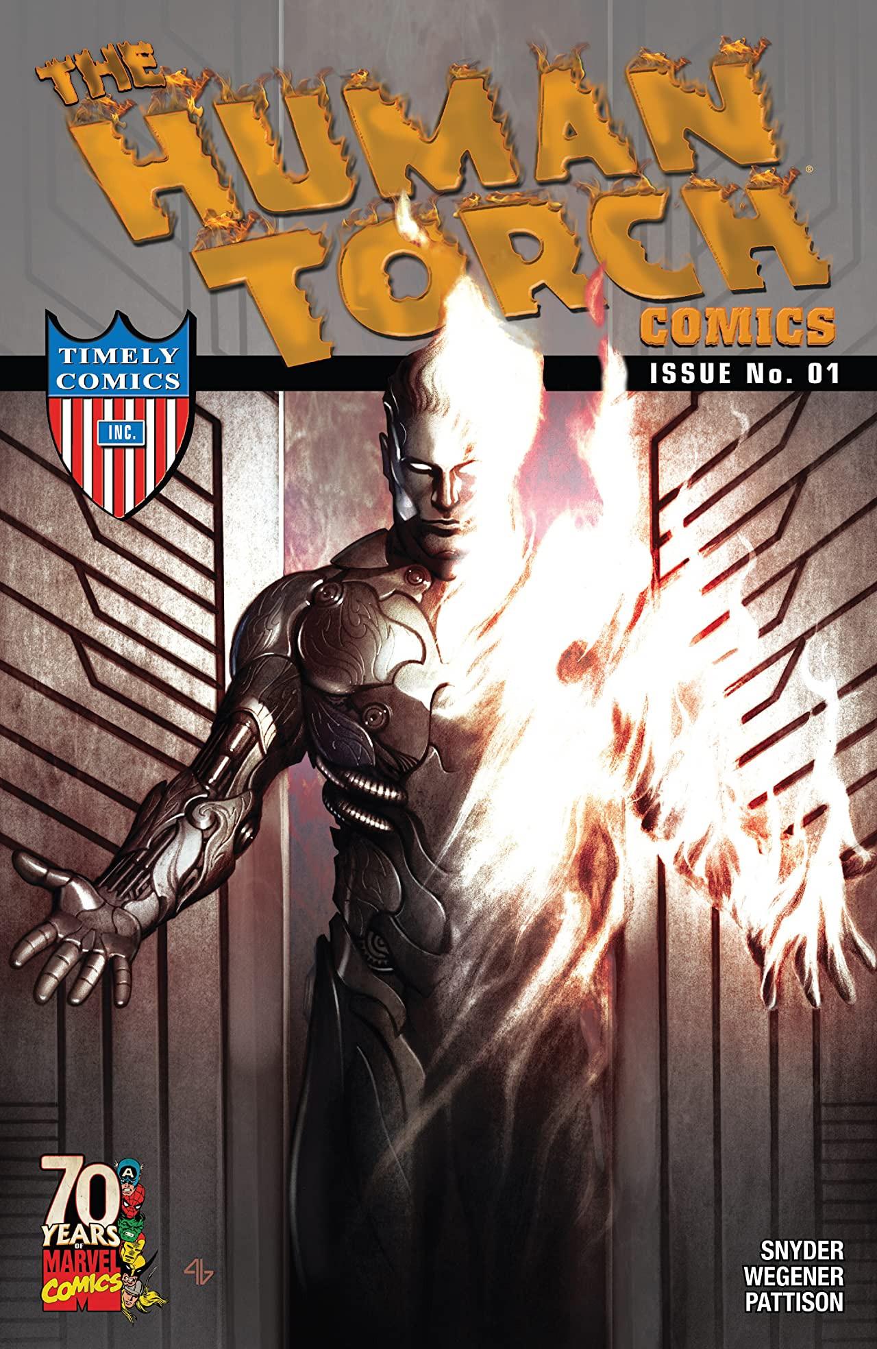 Human Torch Comics 70th Anniversary Special Vol 1 1