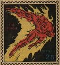 Human Torch Marvel Value Stamp