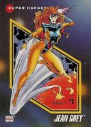 Jean Grey (Earth-616) from Marvel Universe Cards Series III 0001