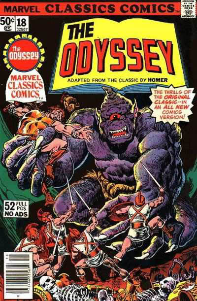 Marvel Classics Comics Series Featuring The Odyssey Vol 1