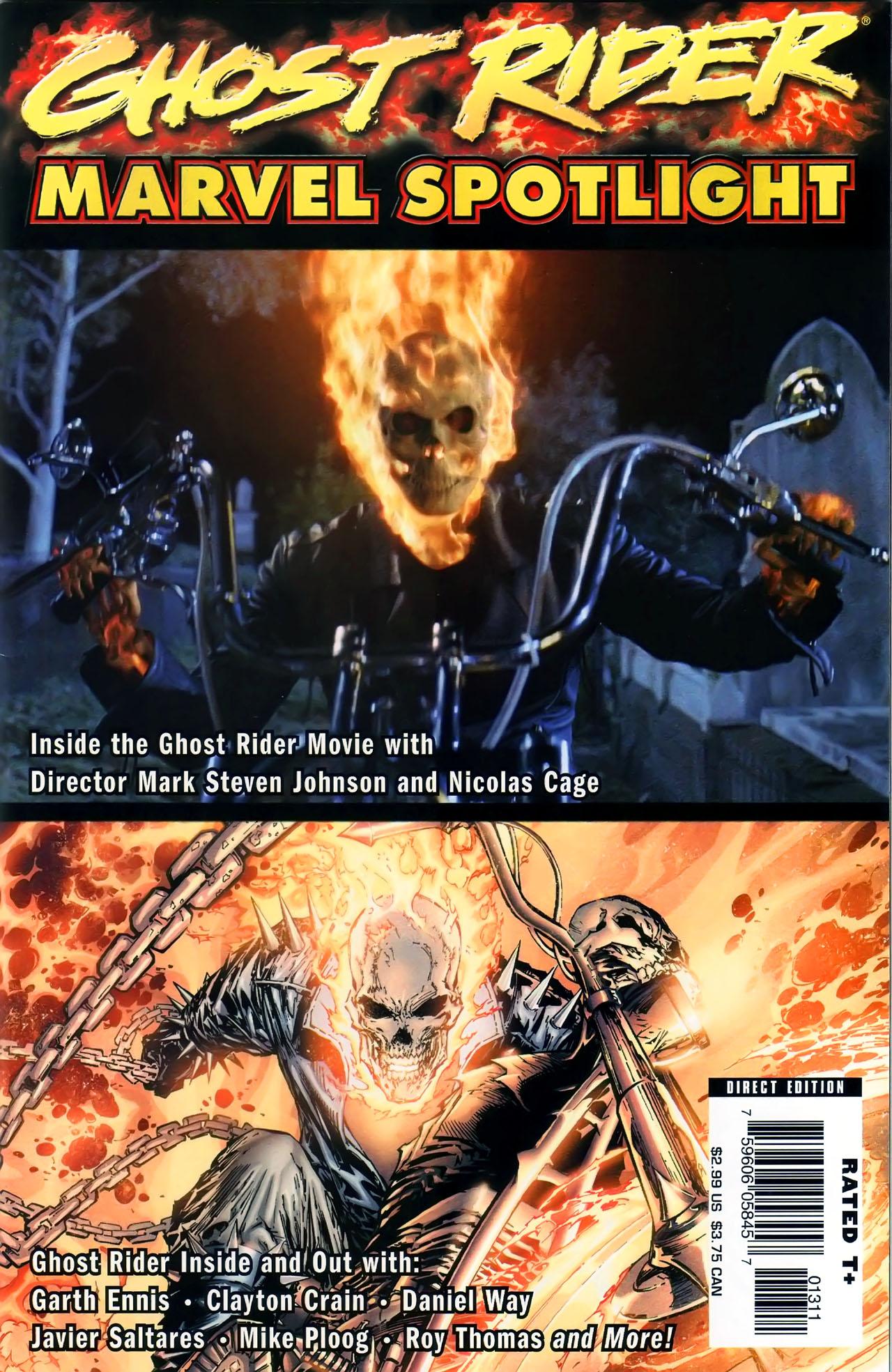 Marvel Spotlight: Ghost Rider Vol 1 1