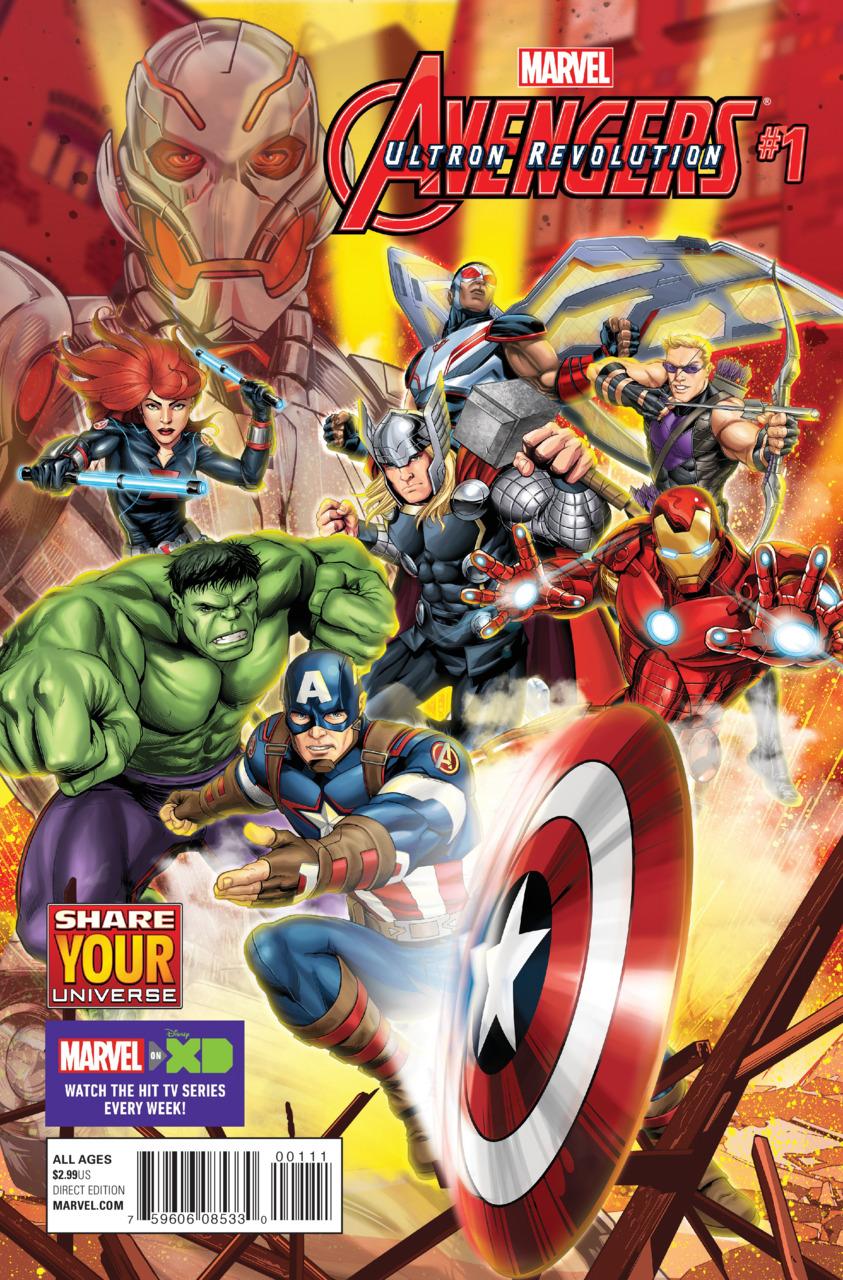 Marvel Universe Avengers: Ultron Revolution Vol 1 1