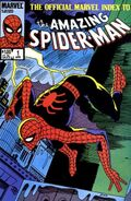 Official Marvel Index to Amazing Spider-Man Vol 1 1