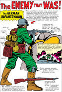 Sgt Fury The Enemy that Was! Pin Up