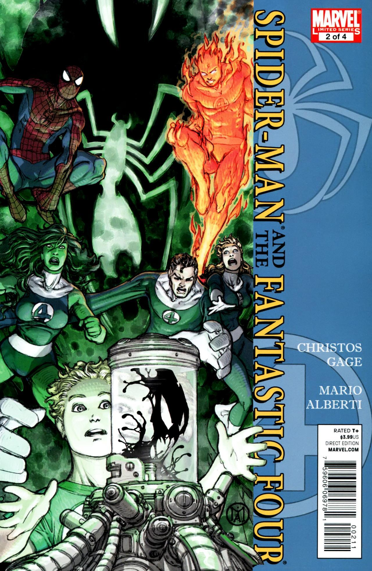 Spider-Man / Fantastic Four Vol 1 2