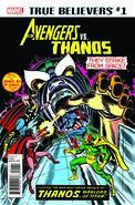 True Believers Avengers vs. Thanos Vol 1 1