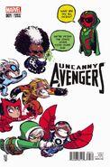 Uncanny Avengers Vol 2 1 Baby Variant