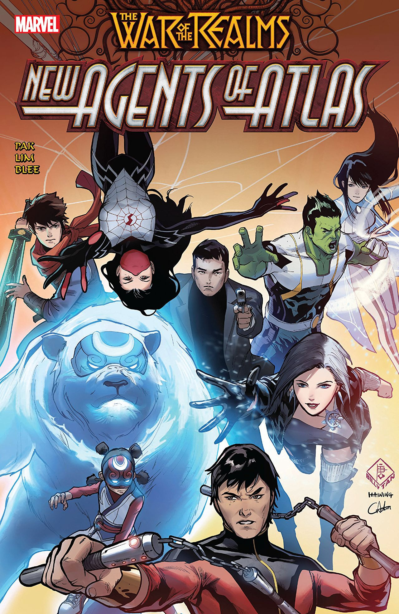 War of the Realms: New Agents of Atlas TPB Vol 1