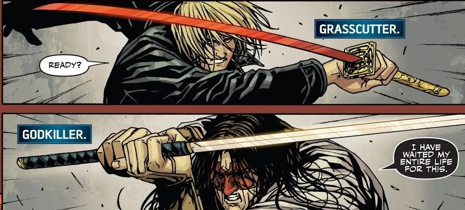 Alexander Aaron (Earth-616) vs. Tomi Shishido (Earth-616) from Secret Warriors Vol 1 21 001.jpg