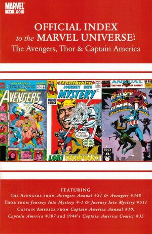 Avengers, Thor & Captain America Official Index to the Marvel Universe Vol 1 11.jpg