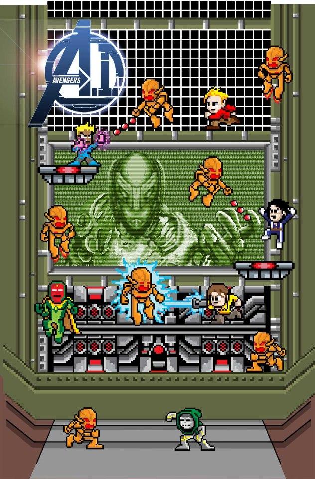 Avengers A.I. Vol 1 1 8-bit Variant Textless.jpg