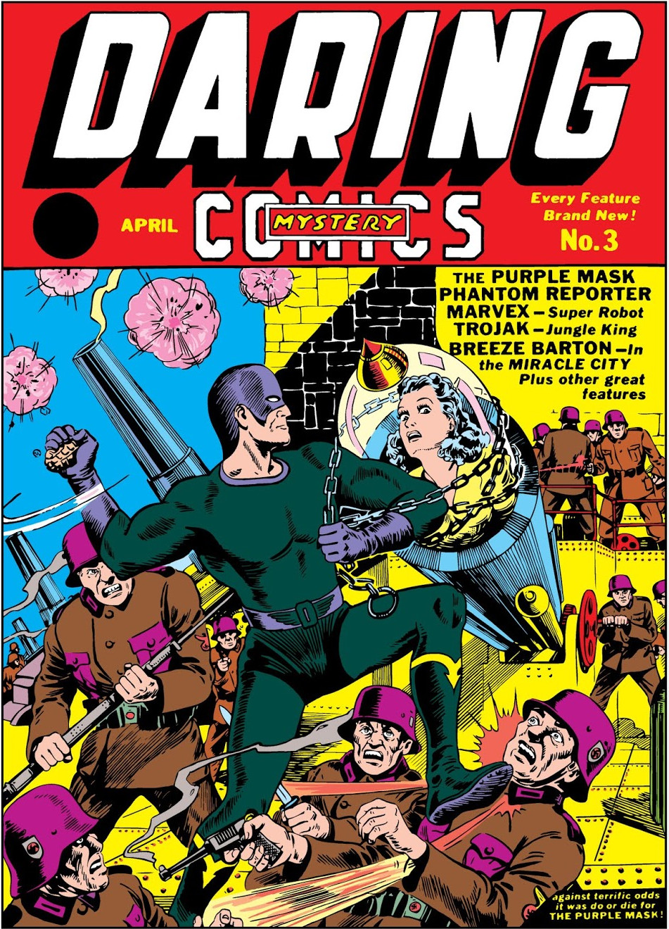Daring Mystery Comics Vol 1 3